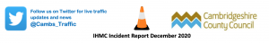 Integrated Highways Management Centre (IHMC) Incident Report December 2020