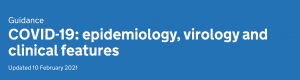 Guidance COVID-19: epidemiology, virology and clinical features